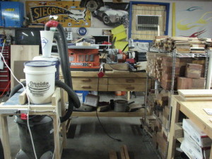 HF Bench and dust collection